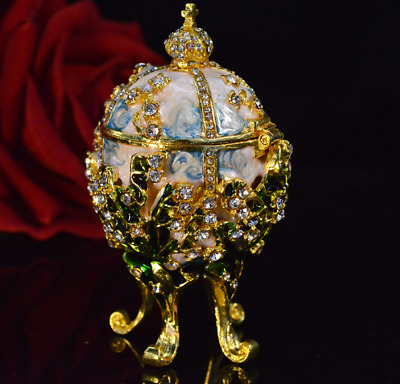 Pearl Metal religious mascot Collection Faberge egg trinket box