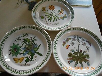 PORTMEIRION BOTANIC Garden Dinner Plates Older And Discontinued & Breathtaking Discontinued Portmeirion China Images - Best Image ...