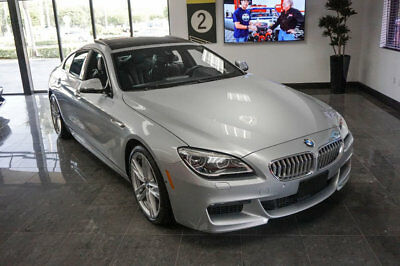 BMW 6 Series 650i xDrive Gran Coupe '17 BMW 650i xDrive, 445 HP, M Sport Pkg,M Sport Edt,Executive &Cold Weather Pkg