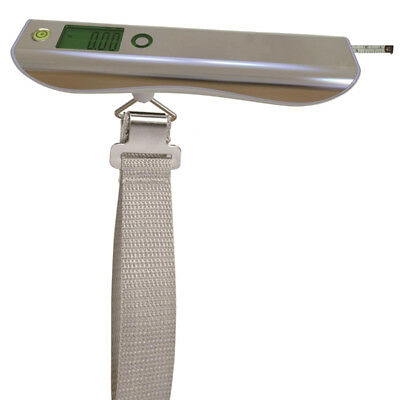 Portable Travel Tare 110lb 50kg Hanging Digital Suitcase Luggage Scale #2
