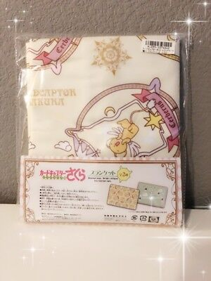 NEW! AUTHENTIC Kero Chan Blanket Anime Card Captor Clear Card TAITO Japan Sakura