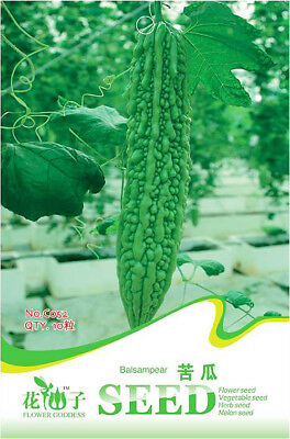 Original Package 10 Balsampear Seeds Momordica Charantia Bitter Vegetable C052