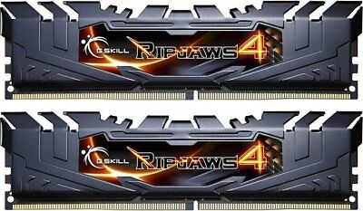 G.Skill RipJaws 4 schwarz DIMM Kit 8GB, DDR4-3000, CL15-15-15-35