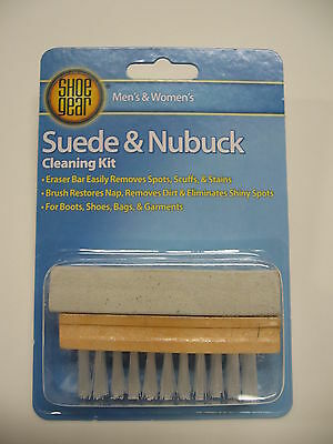 Suede & Nubuck  Cleaner  Kit -  Brush  & Eraser Bar