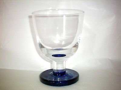 Denby Reflex Blue Goblet Glass New Several Available Glasses