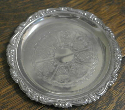 vintage silver plate small plate tray BOWL