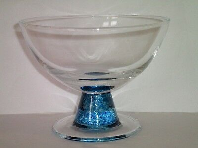 Denby Blue Jetty Dessert Bowl Dish Glass Excellent Condition Several Available