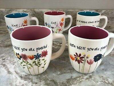Large Colorful Coffee Mug Rae Dunn Different Models And Sizes You Choose. New.