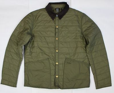 BRAND NEW - Barbour Collegiate Liddesdale Quilt Olive -XL- MSRP $199