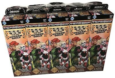 DC HeroClix Harley Quinn and the Gotham Girls Booster Brick of 10 Packs
