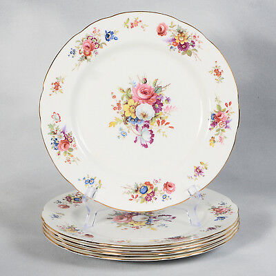 "Set Of 5 Signed F. Howard Hammersley Dinner Plates - Approx. 10-3/4"" Dia."