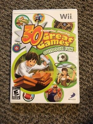 Family Party: 30 Great Games Outdoor Fun - Nintendo  Wii Game (13S)