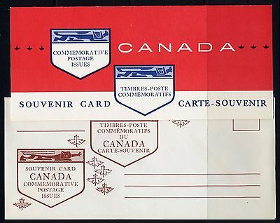 Weeda Canada VF Condition 1963 Souvenir Card #5, with original envelope CV $7.50