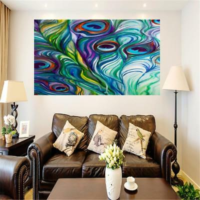 Modern Large Abstract Art Poster Wall Art Hanging Decor Canvas Painting #5