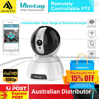 Vimtag CP1 Wireless Pan&Tilt 360 ° Cloud IP Camera Network Baby-monitor Syd Post