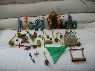 A Bug's Life Toys - Lot Of 46 Pieces