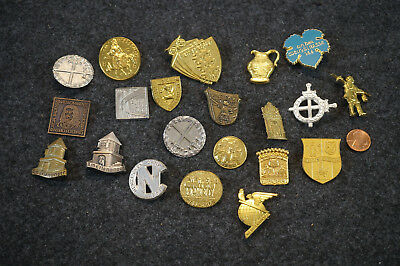 Mix Lot of Vintage German Pins Germany Pinback Button