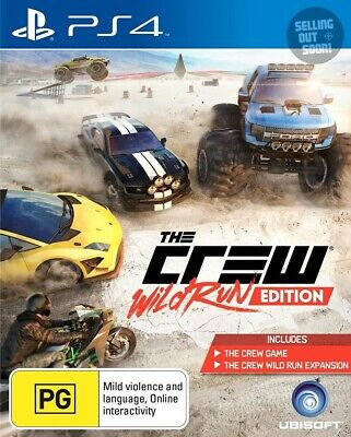 The Crew PS4 Wild Run Edition NEW+OZI Game driving car racing Sony PlayStation 4
