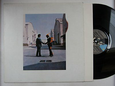 Pink Floyd Wish You Were Here Italy LP 1982 + Innerbag Reissue Faulty Label