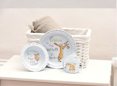 Guess How Much I Love You Breakfast Set (White) - with Cup, Bowl and Plate
