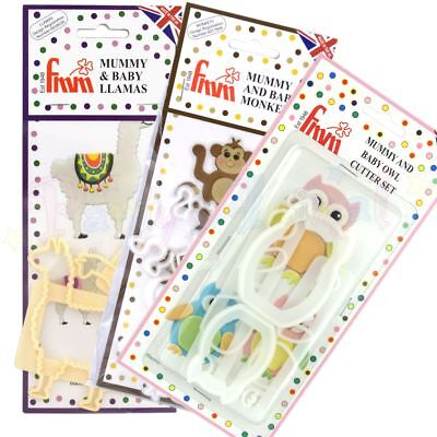 FMM Sugarcraft - Mummy & Baby Cutter Sets - Sugar craft cake decoration cutters