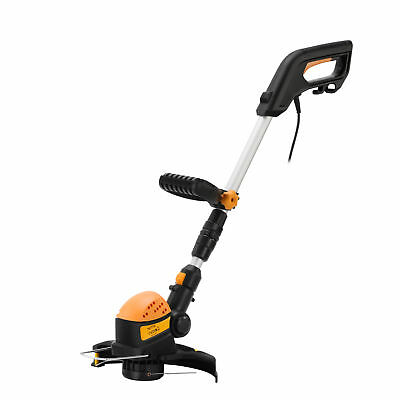Netta Electric Garden Corded Grass Trimmer Hedge Bush Lawn Weed Cutter 550W New