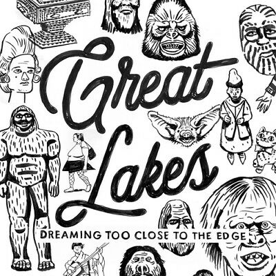 Great Lakes : Dreaming Too Close to the Edge CD (2018) ***NEW*** Amazing Value