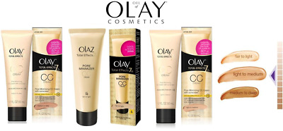 Olay Total Effects 7-in-1 Pore Minimizer CC Cream Choose Your Shade