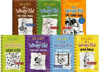 Jeff Kinney Diary of a Wimpy Kid Book Collection Set Brand New
