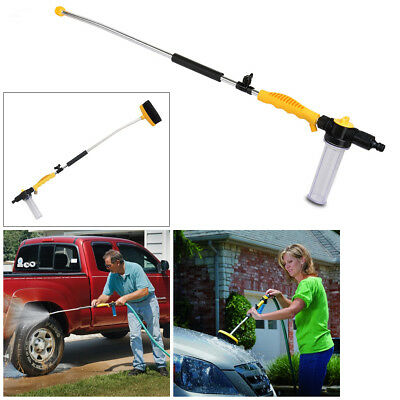Water Zoom Pressure Washer Hose Attachment Nozzle Car Washing Power Spray  Lance