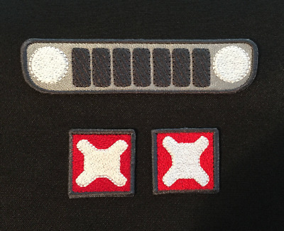 Jeep Renegade Grill & Tail Lights Patches