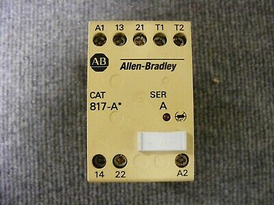 Allen Bradley Thermistor Protection Relay. Cat No.817-A* Ser. A