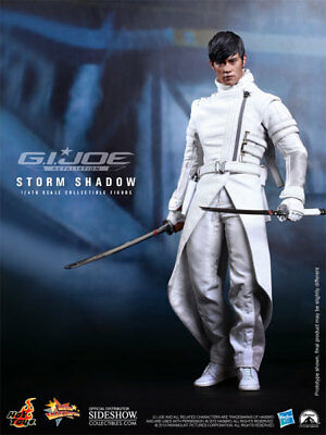 "Storm Shadow Lee Byung Hun G.I. Joe Retaliation MMS193 12"" Figur Hot Toys"