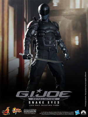 "Snake Eyes Ray Park G.I. Joe Retaliation MMS192 12"" Figur Hot Toys"
