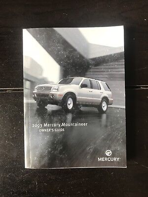 2003 mercury mountaineer owners manual 15 00 picclick rh picclick com 2000 mercury mountaineer owners manual 2000 mercury mountaineer owners manual online