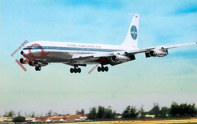 Picture Postcard::PAN AMERICAN BOEING 707-300
