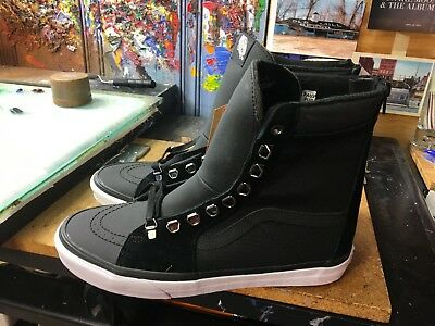 a9f008a7ecba31 Vans Super SK8-HI Zip (Ballistic Mix) Black Size US 9.5 Men s VN0A3JFJQXR