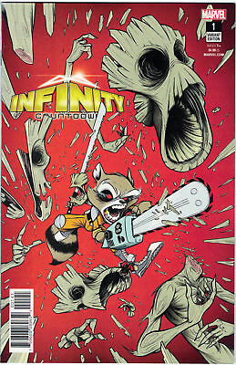INFINITY COUNTDOWN #1 Variant Cover by GUSTAVO DUARTE MARVEL Incentive 1:25