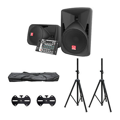 Superlux SP110 500 Watt Portable PA System with Stands and Brackets - New