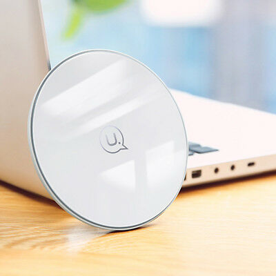 Qi 10W Wireless Fast Charger Charging Pad Dock For Samsung Note 8 S9 S9+ Plus