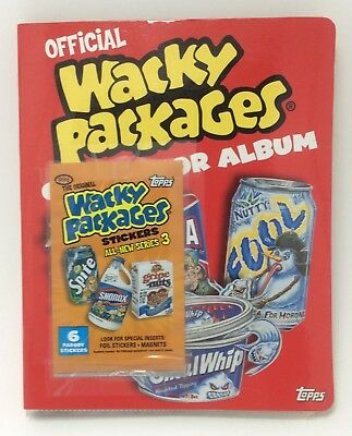Official Wacky Packages Collector Album and Complete Series 3 (2006)