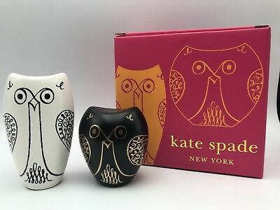 Kate Spade by Lenox Woodland Park Owl Salt & Pepper Shakers