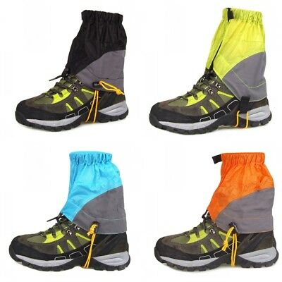 Outdoor Hiking Walking Gators Climbing Hunting Snow Legging Sandproof Feet Cover