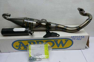 Arrow Auspuff Scooter Kompress Aprilia Scarabeo SR Yamaha Fizz- Breeze AR222
