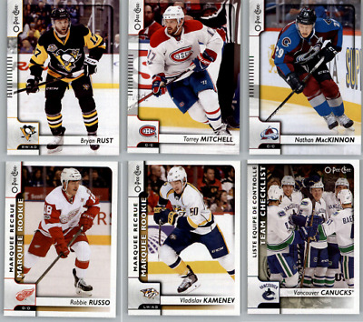 2017-18 O-Pee-Chee Hockey - Base Rookie and SP Cards - Choose Card #'s 401-600
