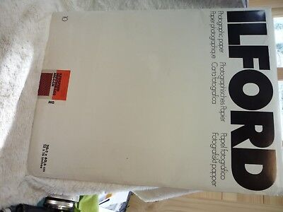 """25  Ilford 20.3Cm 25.4Cm 8Inch 10Inch Mg44M 8"""" 10"""" Photographic Paper"""