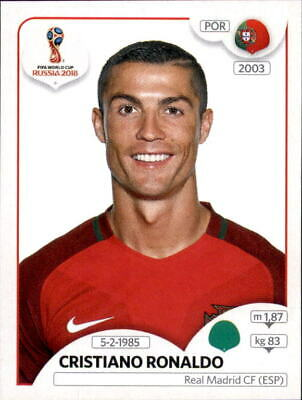 Panini WM 2018 World Cup Russia - Sticker 130 - Cristiano Ronaldo - Portugal