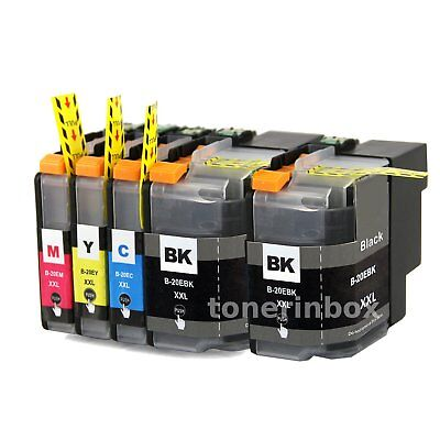 5pk LC20E LC-20E XXL ink cartridge For Brother MFC-J5920DW MFC-J775DW MFC-J985DW