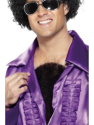Hairy Chest Hair Wig 70s Disco Hunk Stag Do Fancy Dress
