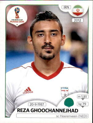 Panini WM 2018 World Cup Russia - Sticker 190 - Reza Ghoochannejhad - Iran